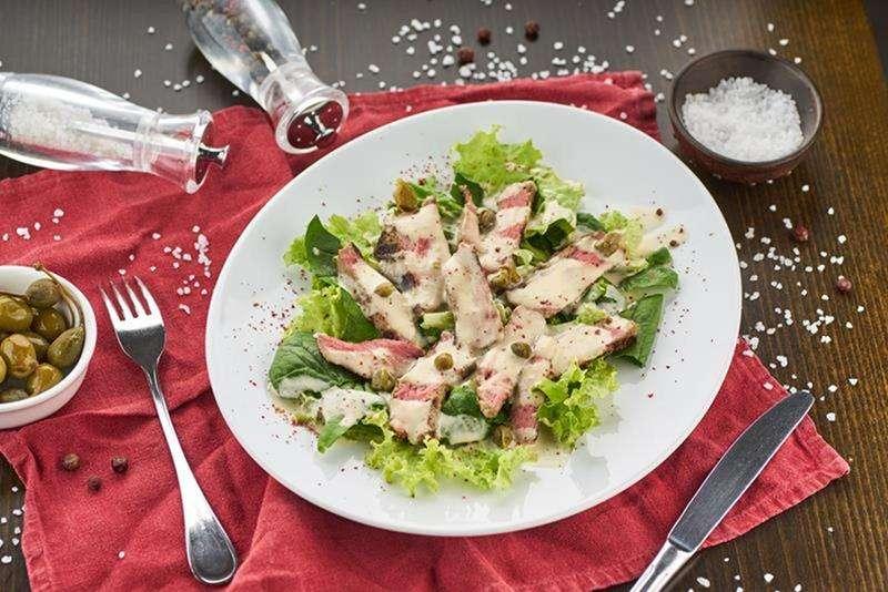Закажите доставку Салата Вителло Тонато из ресторана   Таверна Онейро