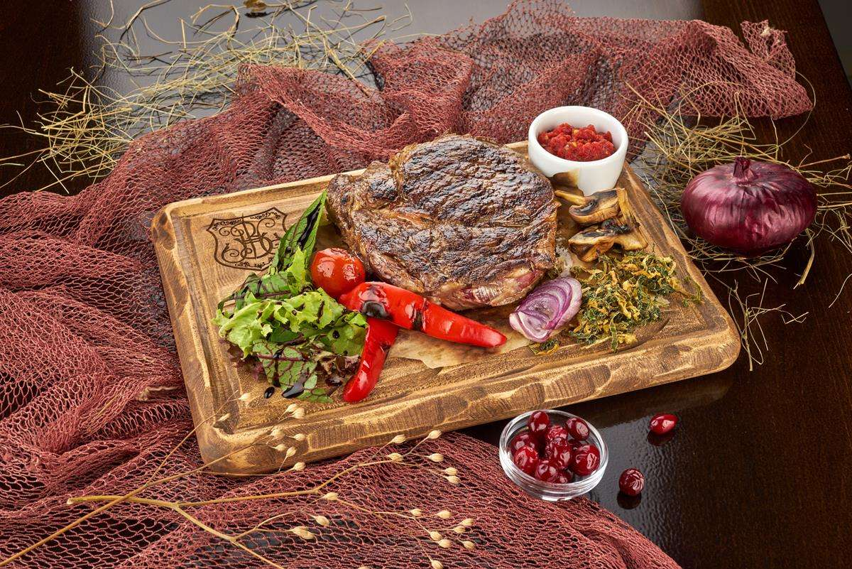 Закажите доставку из ресторана Стейка Рибай | Таверна Онейро
