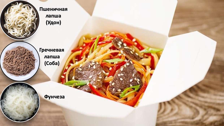 Закажите доставку Wok Лапши с Говядиной из ресторана | Таверна Онейро